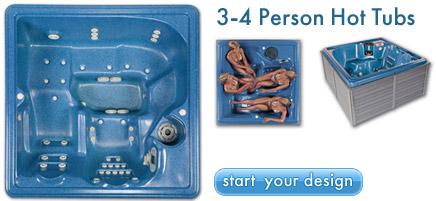 3 person hot tub